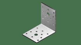 Планка ъглова равнораменна с фиксиращи отвори, неръжд. А2