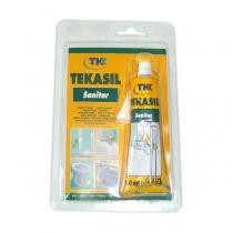 Силикон санитарен на ацетатна база - Tekasil Sanitar TKK