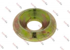 Washer for construction screw with CSK head and Type 17 point