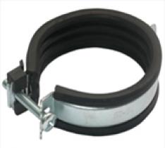 Скаба за тръба, EPDM, гайка, 1 винт, бързо заключване