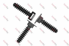 Дюбел за кабелна стяжка не по-широка от 9 мм