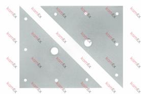 Планка мебелна триъгълна (БЛИСТЕР)