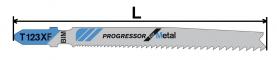 Нож за пробивен трион за метал (HSS) тип T123XF