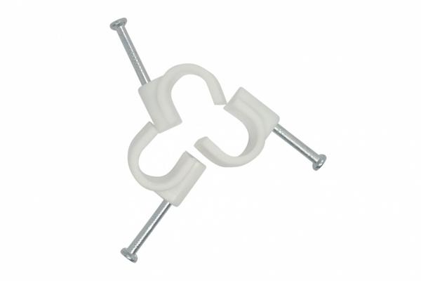 Скоба за кабел с пирон