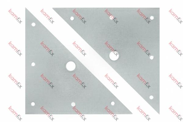 Планка мебелна триъгълна-БЛИСТ