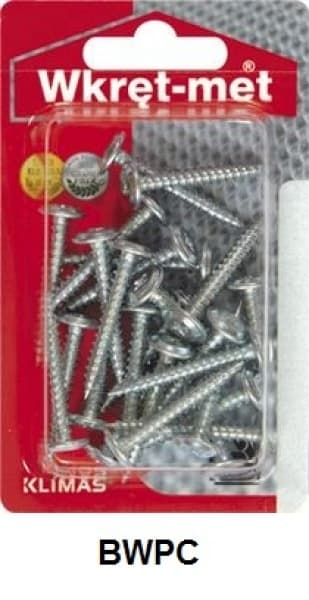 Self-tapping wafer-head screw,