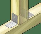 Планка ъглова равнораменна